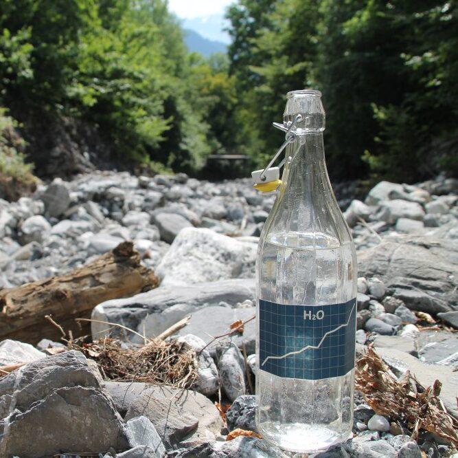 Feuer für das Wasser der Alpen